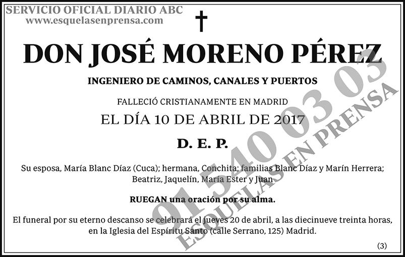 José Moreno Pérez